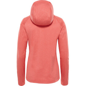 The North Face Tech Mezzaluna Hoodie Damen fire brick heather